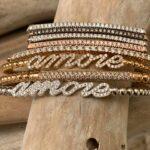 bracciali in oro e diamanti